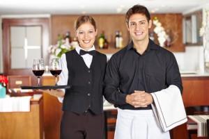 Berufe im restaurant